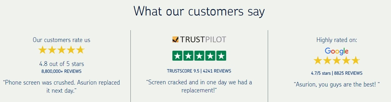 asurion customer reviews