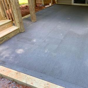 new deck installation