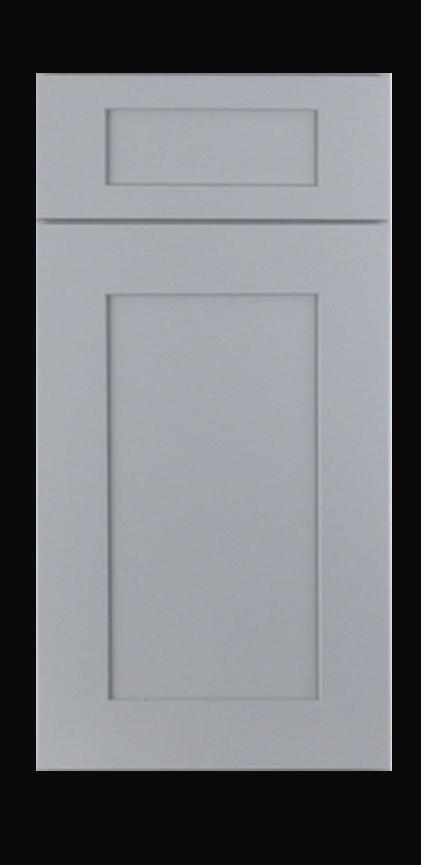 grey shaker cabinet