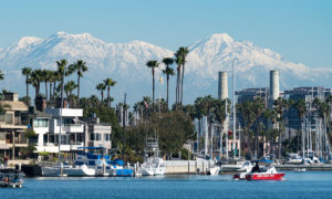 Beautiful Southern California - Place for business and enjoying the Mountains, Winter, Bay, Landscape, Palms