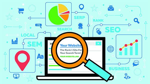 SEO Search SEM Blog Content Marketing