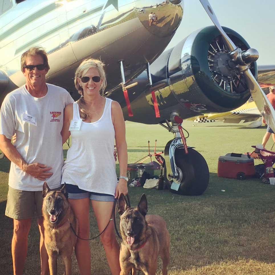 Jet Set Pet Owners David and Julie Marco