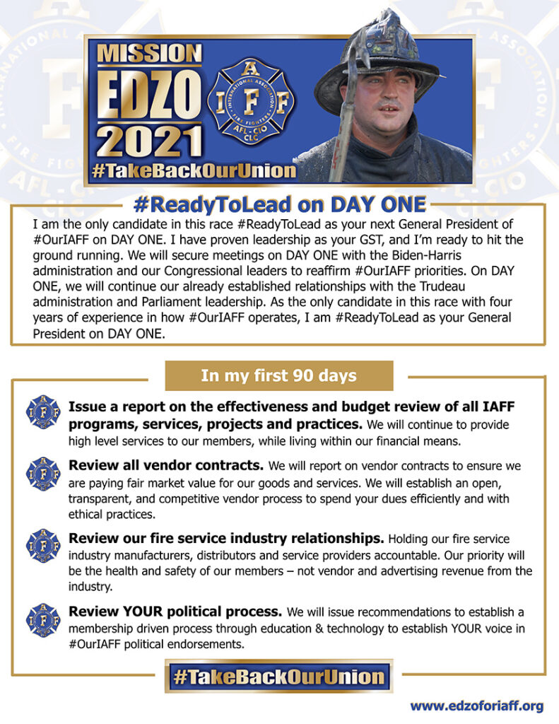 EDZO, Ready to lead