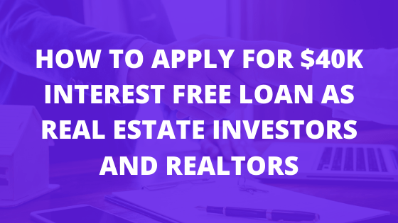How to apply for the Canada Emergency Business Account as a realtor or real estate investor