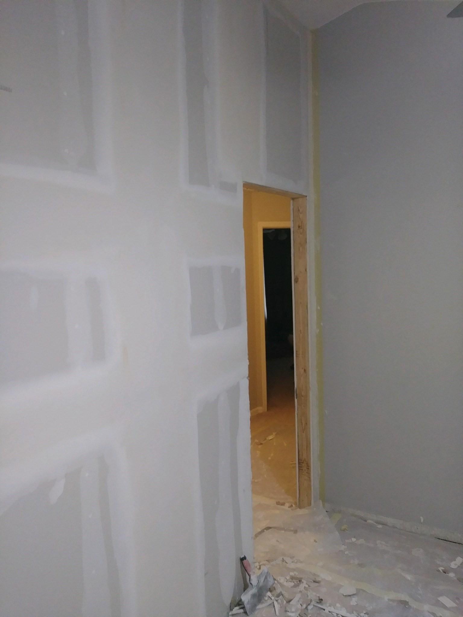 Door Cutout & Drywall Repair