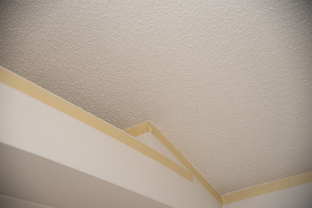 Wall Tape Clean Ceiling Line