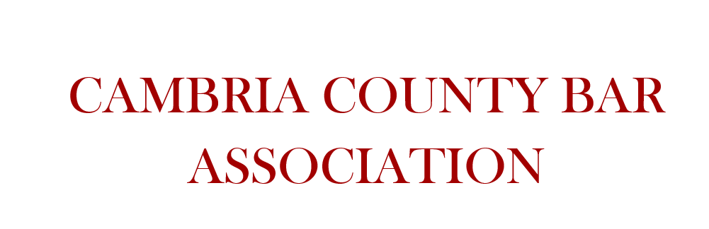Cambria County Bar Association