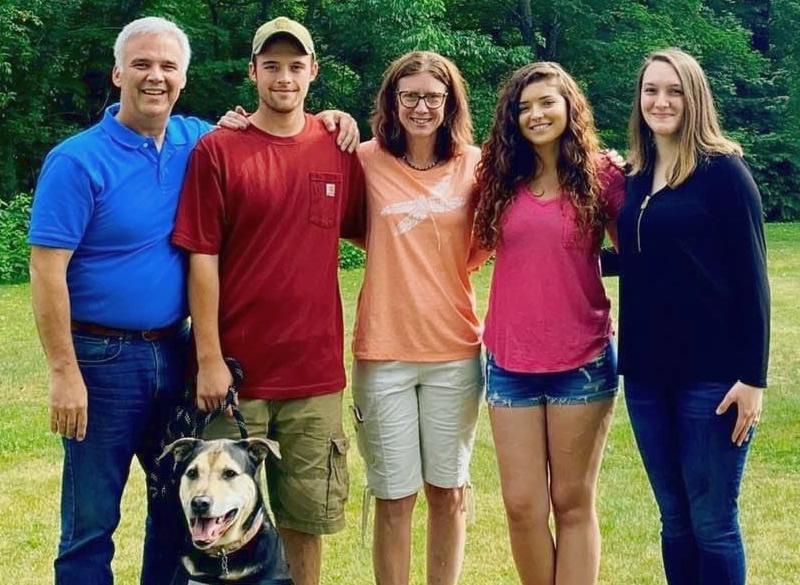 Matt Simpson and family