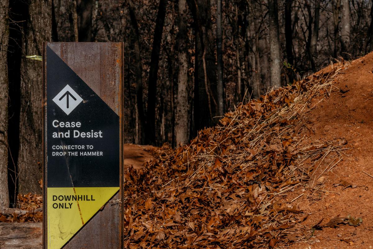 Progressive Trail Design Trailhead in Bentonville, Arkansas