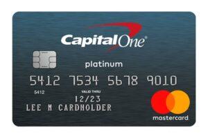 CapitalOne Platinum Mastercard