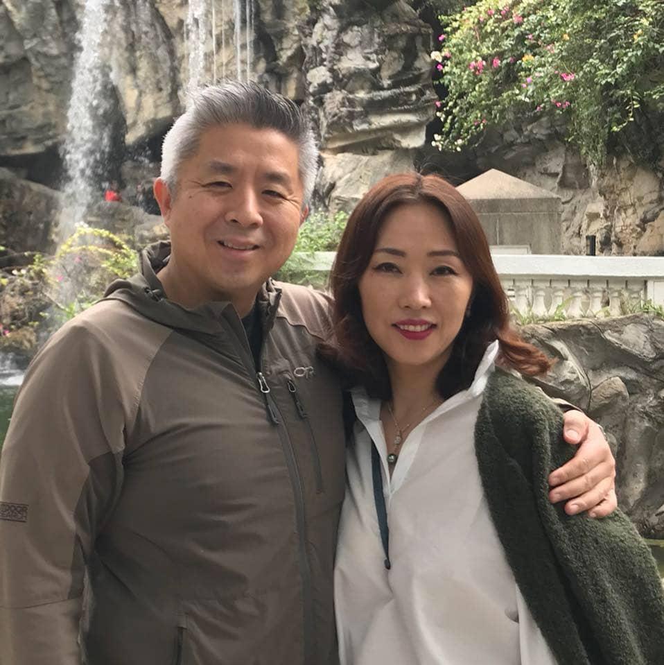 John Hwang and Angela Hwang