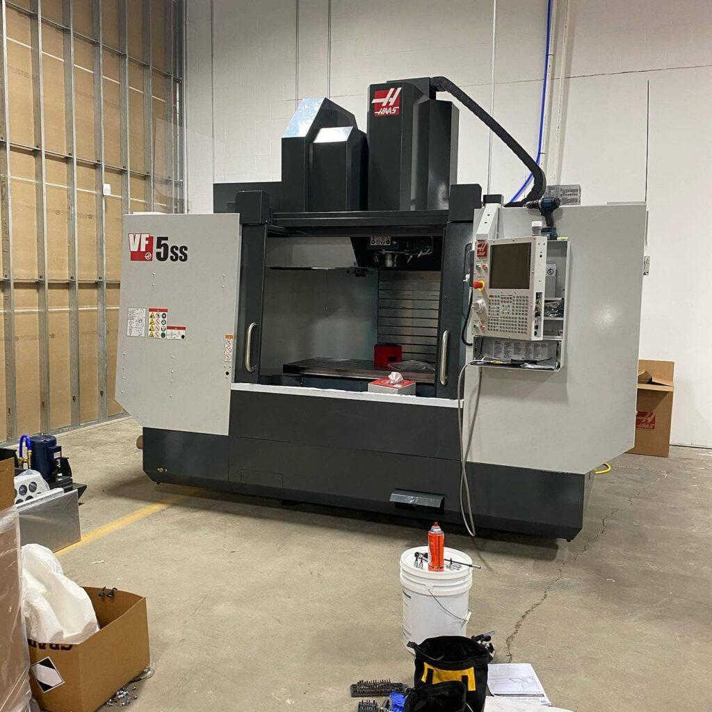 Ranier Arms HAAS VF5 SS CNC Machine