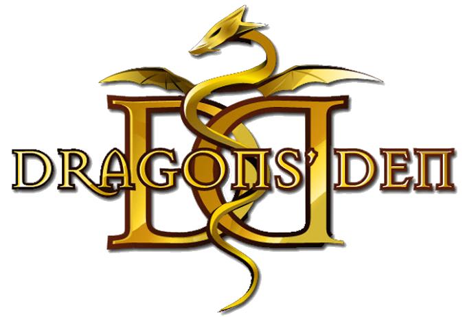 Dragons' Den Gold Logo