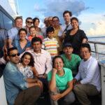 """Realização de workshops em Iquitos e Letícia que integrou parceiros como o IIAP, INPA, CATIE, SINCHI, UEA, PROFONANPE,UNAP, FAS e CAF com o fim de discutir as estratégias para implementação e temas relevantes do curso """"Capacitação e pequenas subvenções para apoiar a mitigação e adaptação às alterações climáticas na Amazônia""""."""