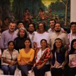 """Realização do diálogo """"La Amazonia que Queremos"""", convocado conjuntamente pela rede SDSN Amazônia, FAS, COICA, COIAB, ECA AMARAKAERI, FENAMAD, ANECAP, AIDESEP, PNUD e IIED na cidade de Puerto Maldonado durante a visita do Papa Francisco pela cidade."""