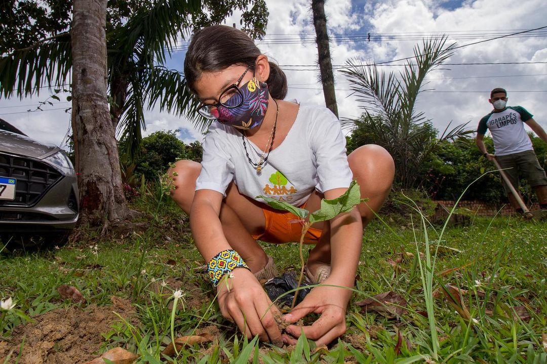 SDSN Jovem Amazônia realiza ação especial em prol do Dia  do Meio Ambiente