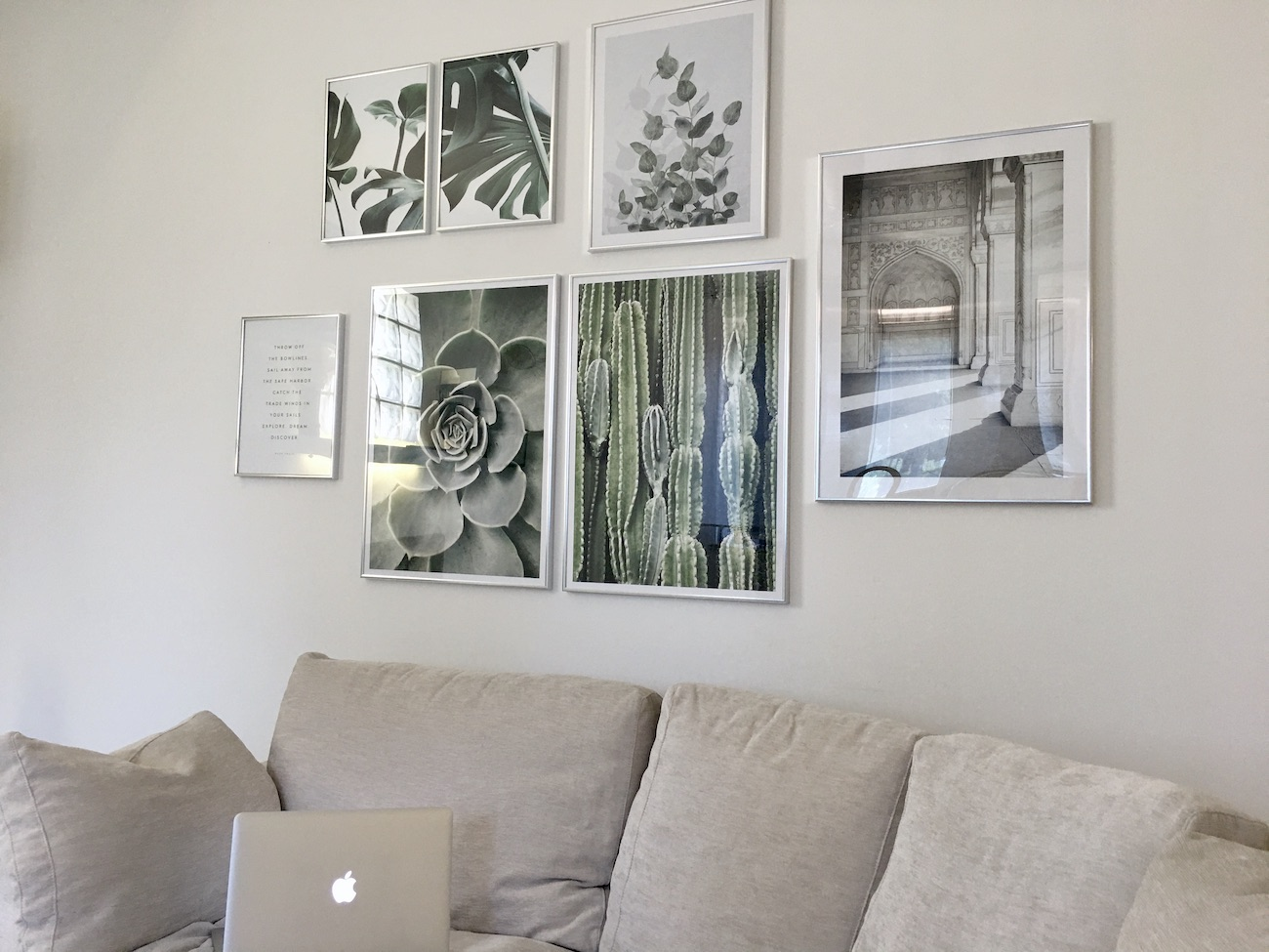 how to embellish an empty wall