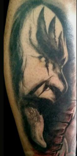 Scott Ford Tattoos - Gene Simmons