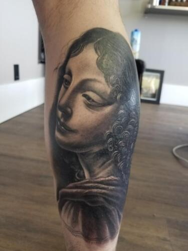 Scott Ford Tattoos - mona lisa