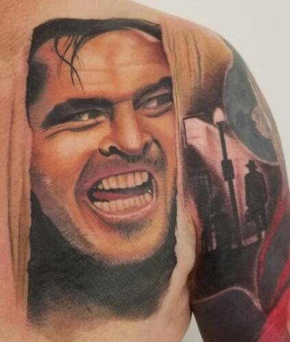 Scott Ford Tattoos - the shining