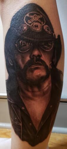 Scott Ford Tattoos - Lemmy Kilmister