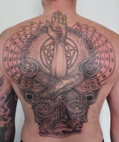 Scott Ford Tattoos - TOOL