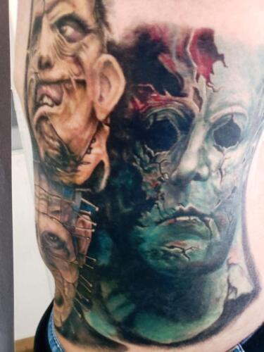 Scott Ford Tattoos - horro tattoo