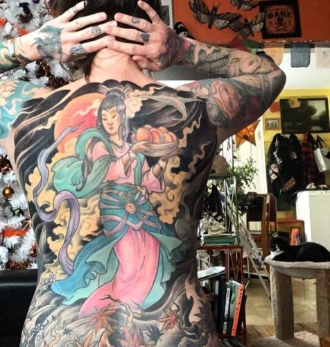 Scott Ford Tattoos - giesha