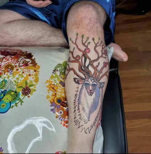 Kimberly Brumble Tattoos - fantasy tattoo
