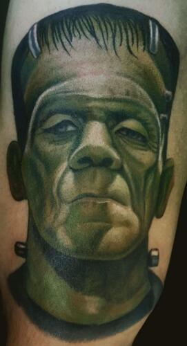 Scott Ford Tattoos - frankensein