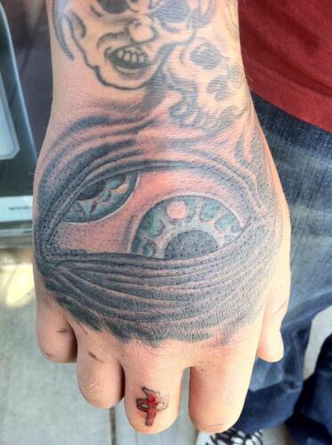Mike Peace Tattoos - TOOL eye