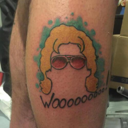 Mike Peace Tattoos - rick flair tattoo