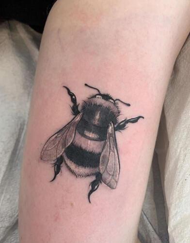 Katina Sceffler Tattoos - bee