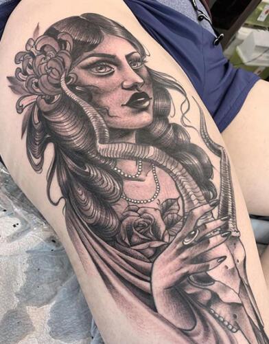 Katina Sceffler Tattoos - gypsy tattoo