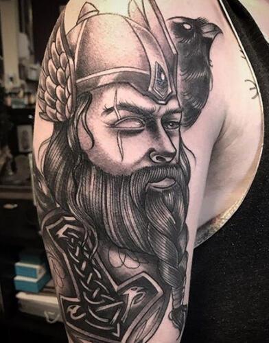 Katina Sceffler Tattoos - viking tattoo