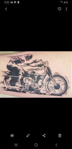 Scott Ford Tattoos - biker