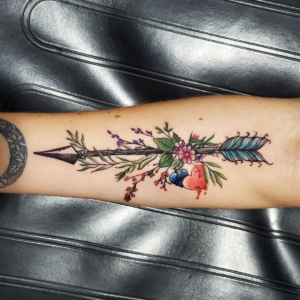 Tattoos by Tymm Cre8tions - arrow tattoo