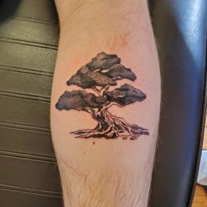 Tattoos by Tymm Cre8tions - bonsai tree tattoo