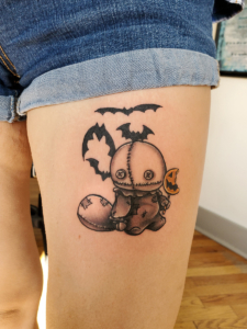 Tattoos by Tymm Cre8tions - trick or treat sam tattoo