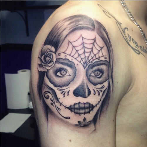 sugerskull face