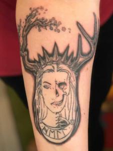 tattoo by Dylan Llewellyn