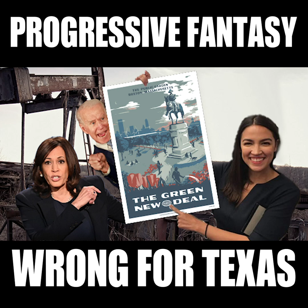 Liberal Fantasy – The Green New Deal – Bad for Texas