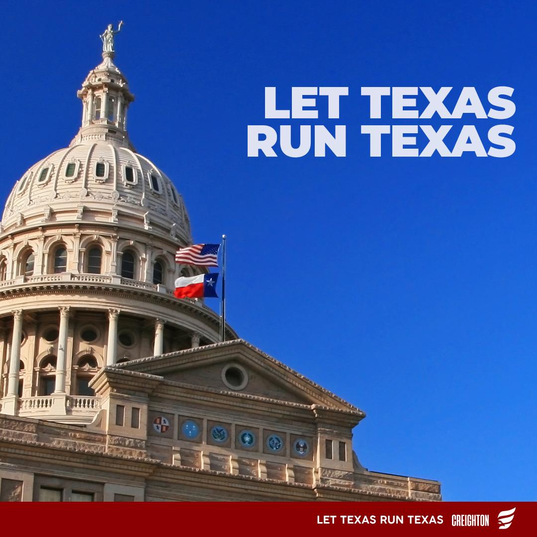 Let Texas Run Texas!