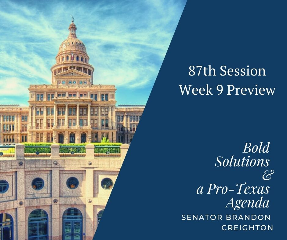 87th Session – Week 9 Preview
