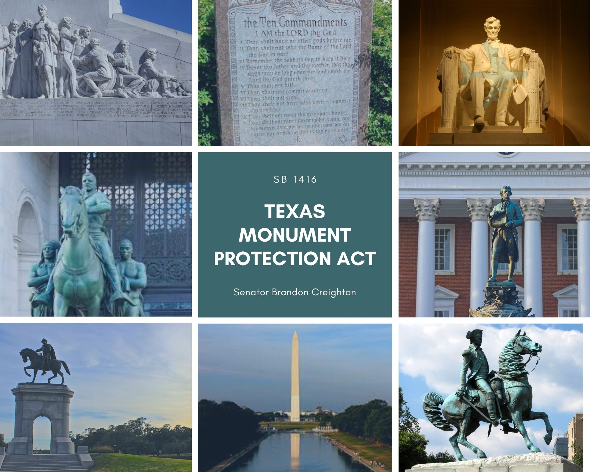 The Texas Monument Protection Act – Senate Bill 1416