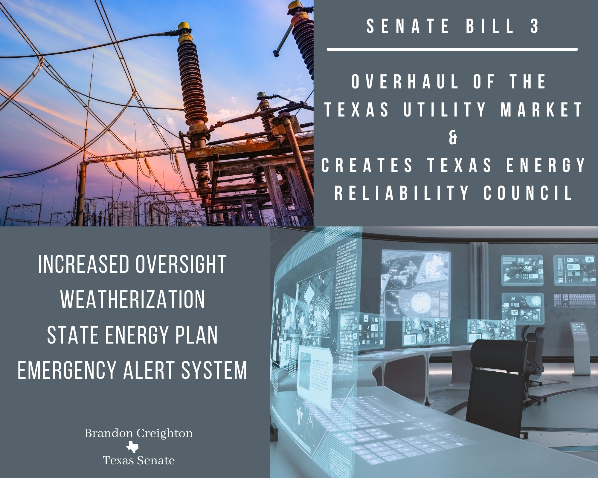 Senate Bill 3 – Overhauling and Increasing Oversight of the Texas Utility Market