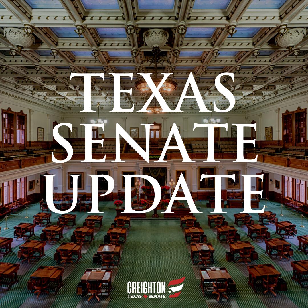 Texas Senate Hearing Update