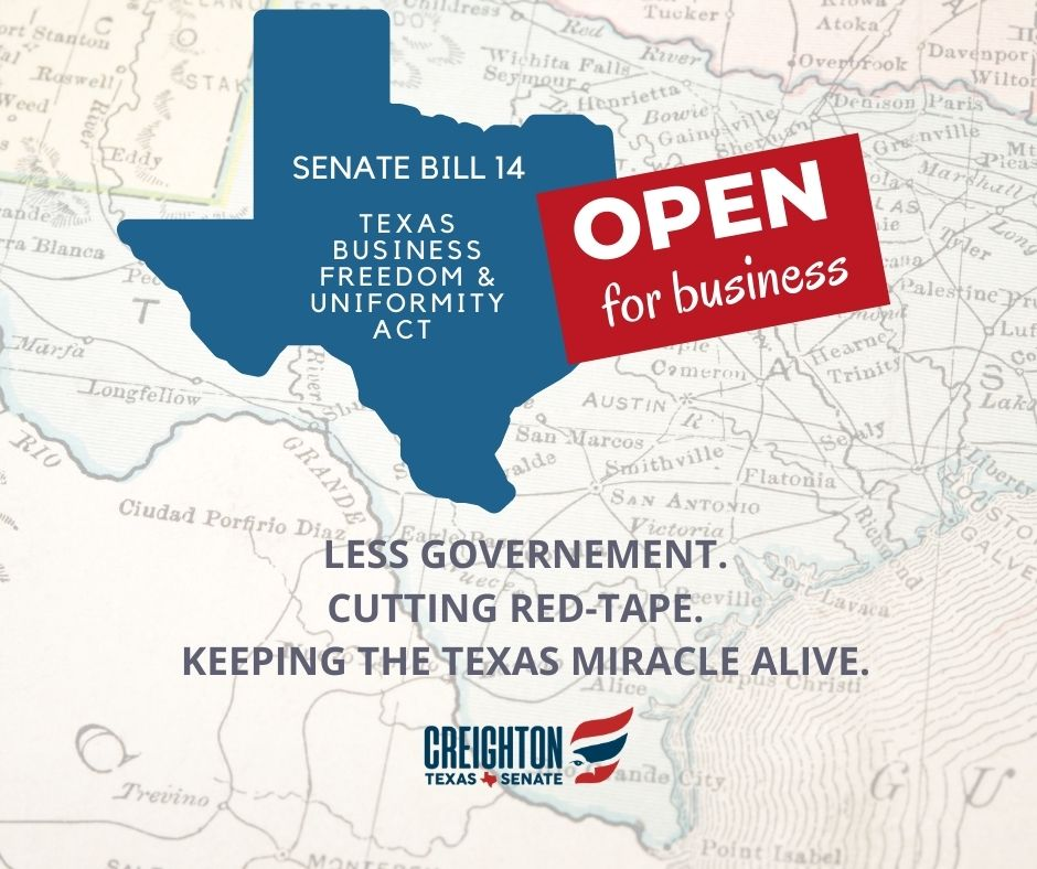 Senate Bill 14 – The Business Freedom and Uniformity Act