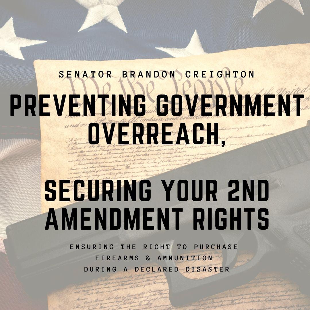 Senate Bill 18 – Protect Second Amendment Businesses