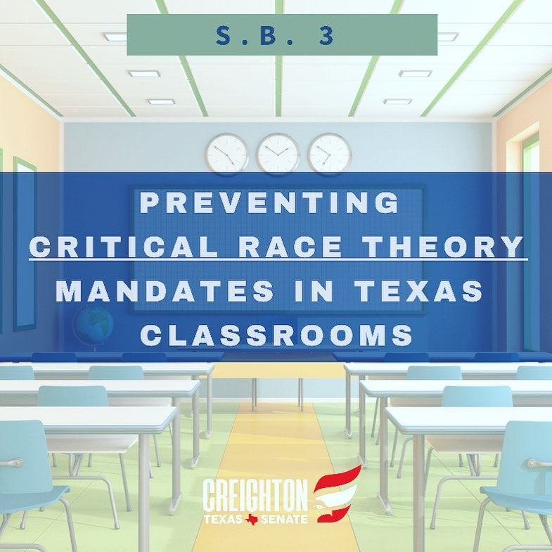Stopping CRT from Texas Classrooms